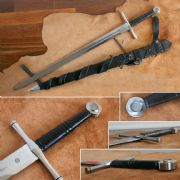 Two Handed Norman Sword & Sheath